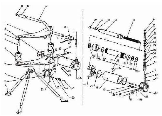 Монтажная схема: трубогиб.