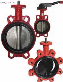 ЗПНЛ-FLN (w)-5-150-MN-N.Ду 150 ,Ру 16 затвор поворотный дисковый