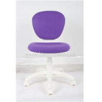 Детское кресло XYL-1120G (White plastic/purple fabric)